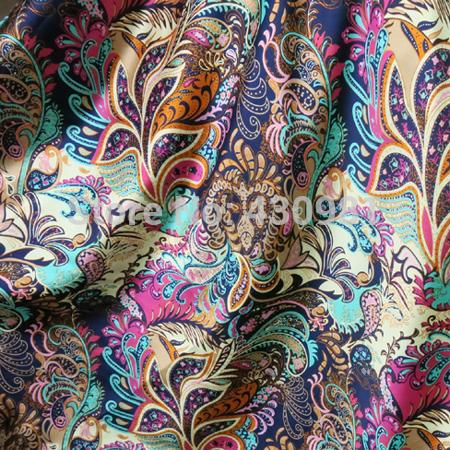 In trên vải Silk