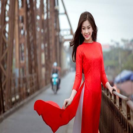In vải áo dài đẹp